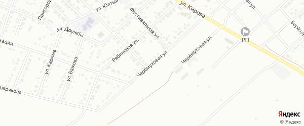 Черемуховая улица на карте Белорецка с номерами домов