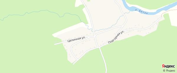 Целинная улица на карте деревни Катайки с номерами домов