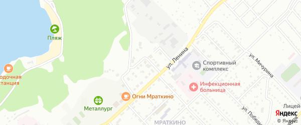 Улица Ларионова на карте Белорецка с номерами домов