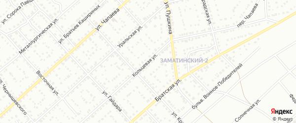 Кольцевая улица на карте Белорецка с номерами домов