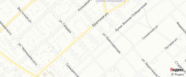 Сиреневый переулок на карте Белорецка с номерами домов