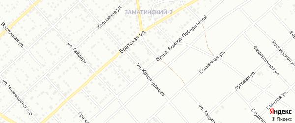 Бульвар Воинов-Победителей на карте Белорецка с номерами домов