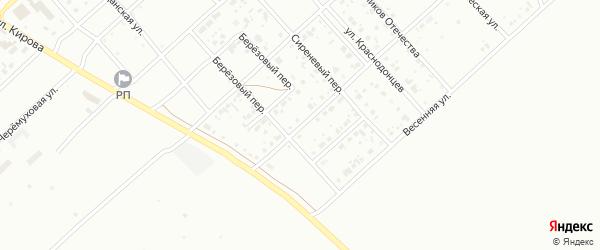 Светлая улица на карте Белорецка с номерами домов