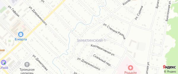 Улица Мясникова на карте Белорецка с номерами домов