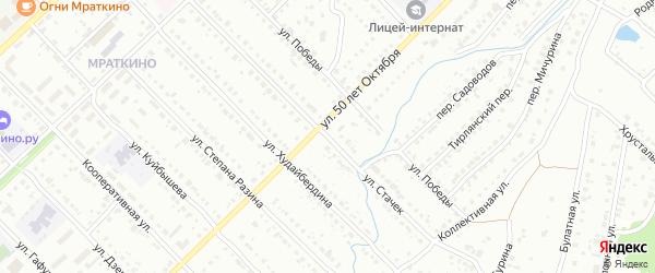 Улица Стачек на карте Белорецка с номерами домов
