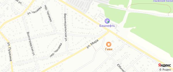 Улица Мира на карте Белорецка с номерами домов