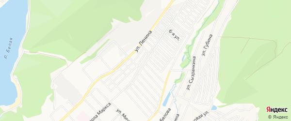 СНТ ВЕТЕРАН-2 на карте Ветерана 2-й сада с номерами домов