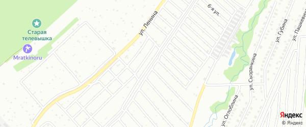 Ветеран 1-й сад на карте Белорецка с номерами домов