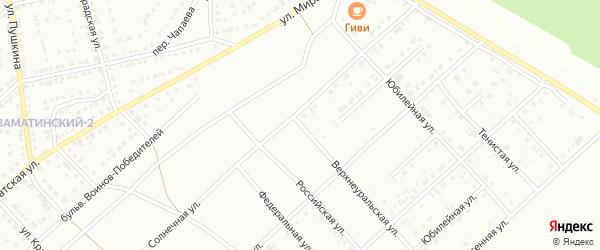 Верхнеуральская улица на карте Белорецка с номерами домов