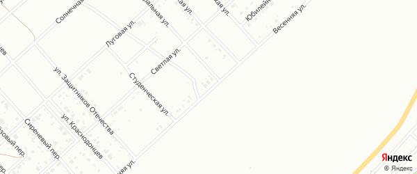 Весенняя улица на карте Белорецка с номерами домов
