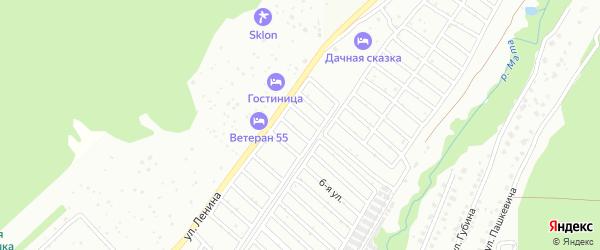 БМК 2-й сад на карте Белорецка с номерами домов