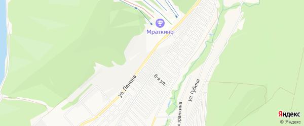СНТ N6 БМК на карте БМК 6-й сада с номерами домов