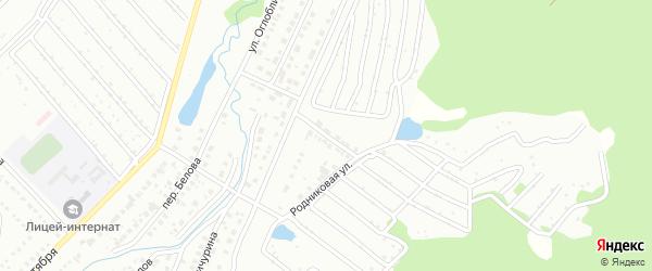 Вишенная улица на карте Белорецка с номерами домов