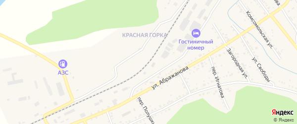 Станция Красная Горка на карте Юрюзани с номерами домов