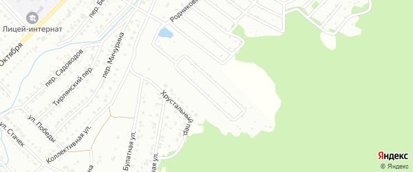 Сад Родничок на карте Белорецка с номерами домов