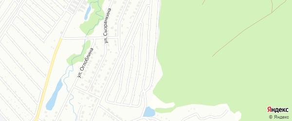 Металлист 13-й сад на карте Белорецка с номерами домов