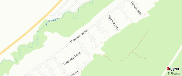 Суворова 1-й переулок на карте Белорецка с номерами домов