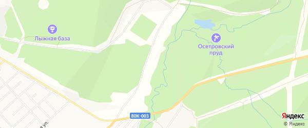 СНТ Лесовик на карте сада Лесовика с номерами домов