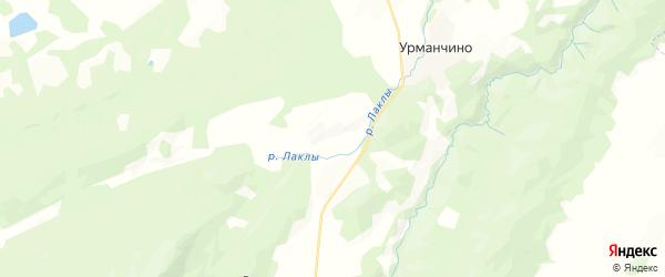 Карта Алькинского сельсовета республики Башкортостан с районами, улицами и номерами домов