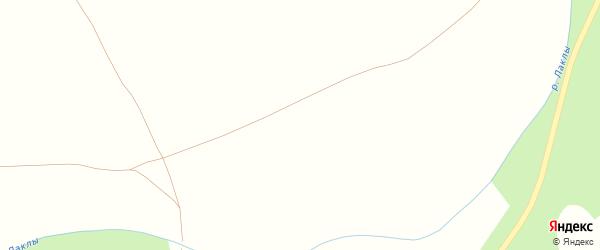 Улица Гайфуллиной на карте деревни Яхъя с номерами домов