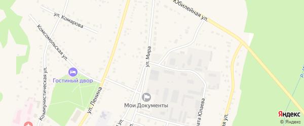 Улица Салавата Юлаева на карте села Аскарово с номерами домов
