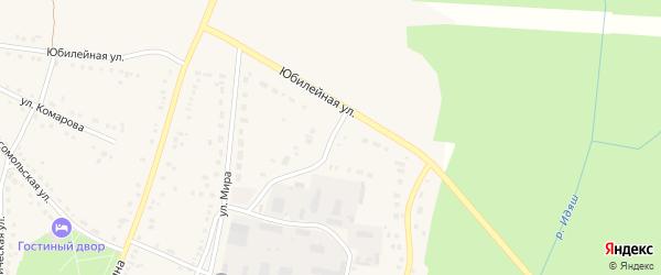 Юбилейная улица на карте села Аскарово с номерами домов