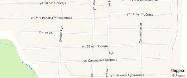 Улица Ишмурзы Хидиятова на карте села Аскарово с номерами домов