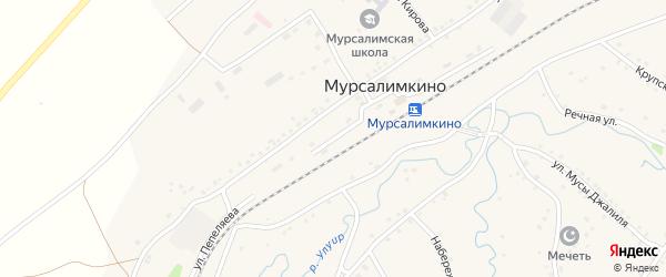 Улица Пепеляева на карте села Мурсалимкино с номерами домов