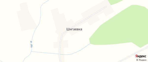Улица Дружбы на карте деревни Шигаевки с номерами домов