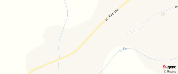 Улица Кирова на карте села Емашей с номерами домов