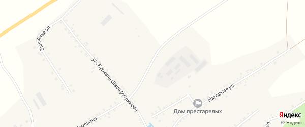 Улица Х.Яруллина на карте села Еланлино с номерами домов