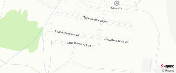 Старательская улица на карте Сибая с номерами домов