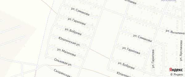 Улица Боброва на карте Сибая с номерами домов