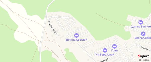 Молодежная улица на карте деревни Зеленая Поляна с номерами домов