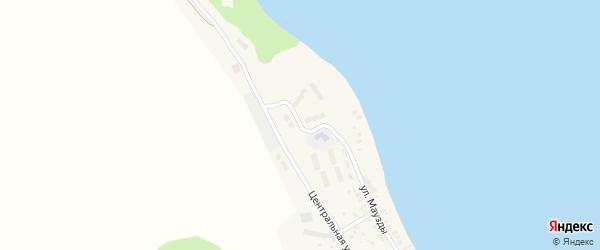 Молодежная улица на карте деревни Якты-Куль с номерами домов