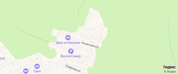 Улица Салавата Юлаева на карте деревни Зеленая Поляна с номерами домов