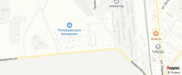 Коннопарковая улица на карте Сибая с номерами домов