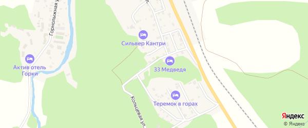 Улица Энергетиков на карте села Новоабзаково с номерами домов