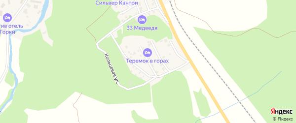 Горная 1-я улица на карте села Новоабзаково с номерами домов