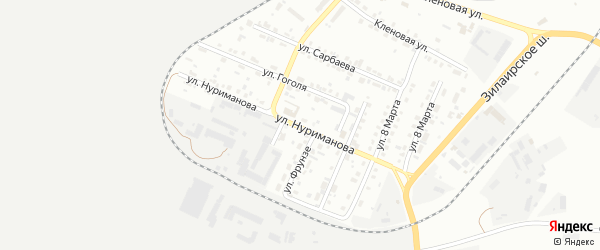 Улица Нуриманова на карте Сибая с номерами домов