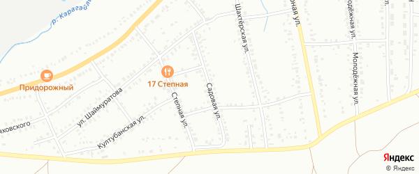 Садовая улица на карте Сибая с номерами домов