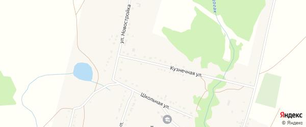 Кузнечная улица на карте деревни Тупаково с номерами домов