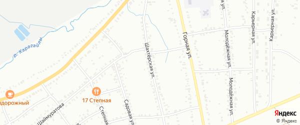 Шахтерская улица на карте Сибая с номерами домов