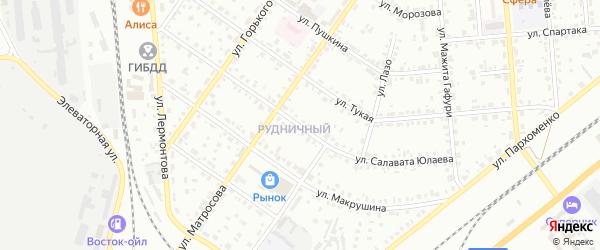 Улица Салавата Юлаева на карте Сибая с номерами домов