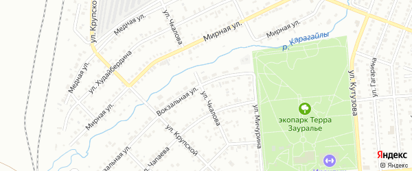 Территория гк Камышлы-Узяк на карте Сибая с номерами домов
