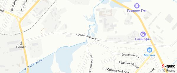 Черемуховая улица на карте Сибая с номерами домов
