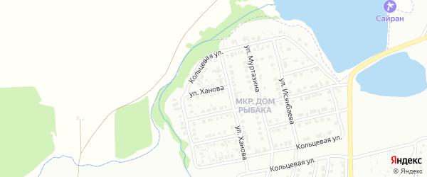 Улица Ханова на карте Сибая с номерами домов