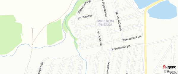 Зеленый переулок на карте Сибая с номерами домов