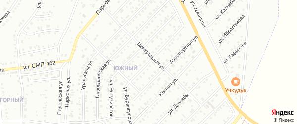 Улица Бурангулова на карте Сибая с номерами домов