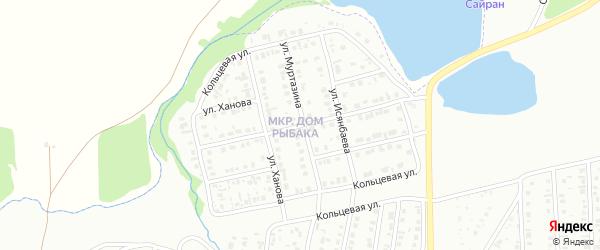 Улица Давлетшиной на карте Сибая с номерами домов